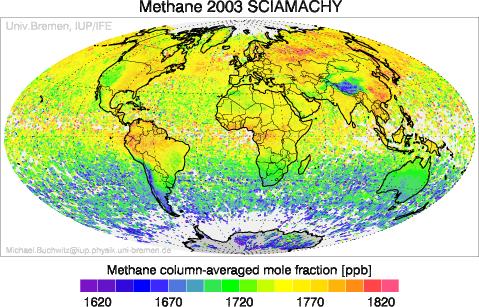 SCIAMACHY Methane 2003