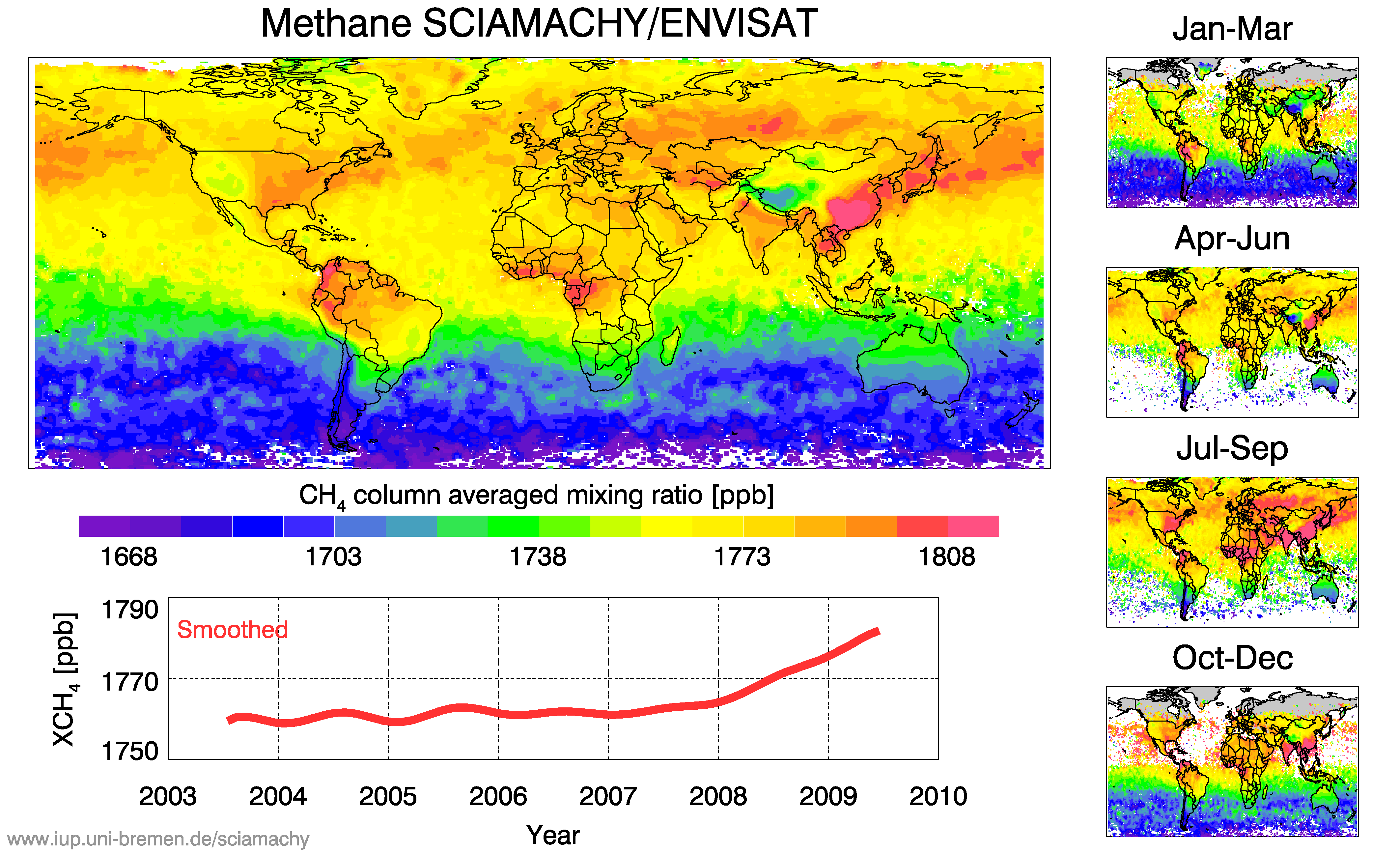 SCIAMACHY methane.