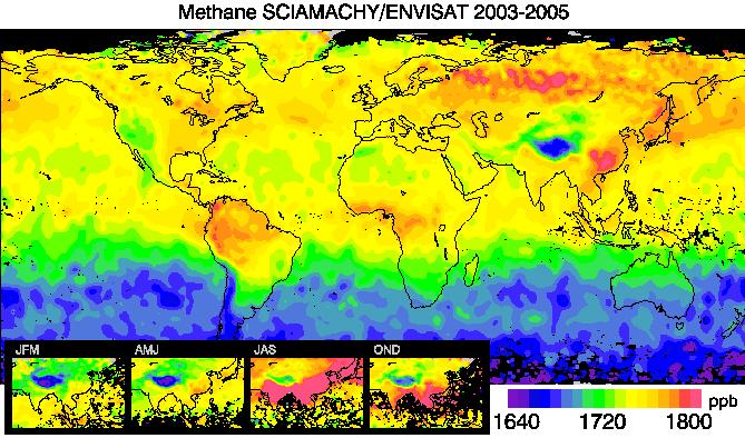 SCIAMACHY Methane